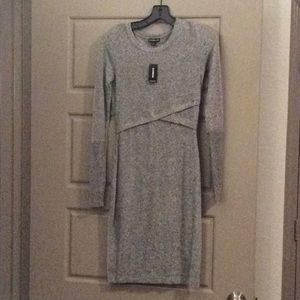 Grey Sweater Dress New With Tags